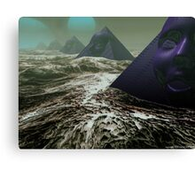 Pyramids of Sirius Canvas Print