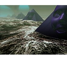 Pyramids of Sirius Photographic Print