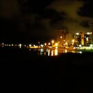 Surfers Paradise at Night by MardiGCalero