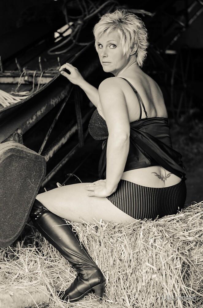 Boudoir-in-the-barn II by Ulla Jensen