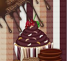 Chocolate Treat Birthday Card by Moonlake