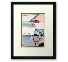 1959 Cadillac Sedan de Ville Framed Print