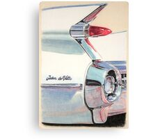 1959 Cadillac Sedan de Ville Canvas Print