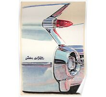 1959 Cadillac Sedan de Ville Poster