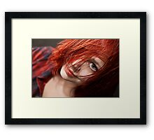 Red Is Dead - Long Live The Dead. Framed Print