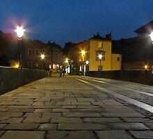 Elvet Bridge by Night by Ian Ker