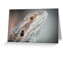 Portrait of a Dragon Greeting Card