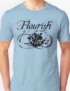 Flourish & Blotts of Diagon Alley Harry Potter Unisex T-Shirt