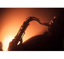 Hot and Saxy Photographic Print
