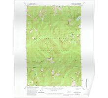 USGS Topo Map Washington State WA Captain Point 240351 1965 24000 Poster