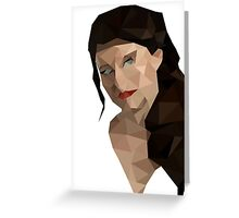 belle - ouat Greeting Card