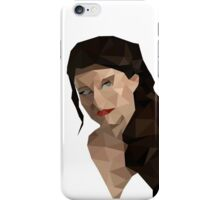 Once Upon a Time - Polygonal Belle iPhone Case/Skin