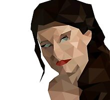 Once Upon a Time - Polygonal Belle by saveenaatwal