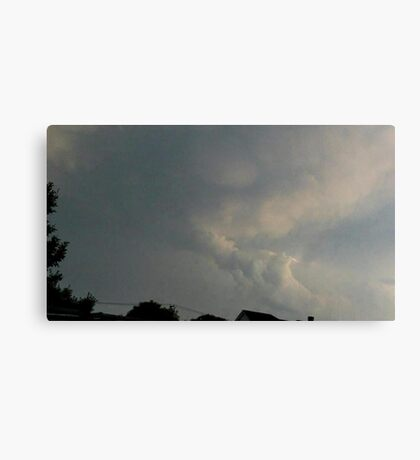 May 5 2012 Storm 89 Canvas Print