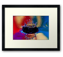 Colouful Coronet Framed Print