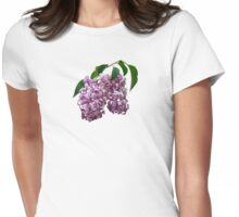 Pink Lilac Duo Womens Fitted T-Shirt