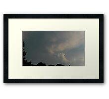 May 5 2012 Storm 95 Framed Print