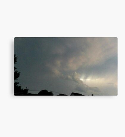 May 5 2012 Storm 96 Canvas Print