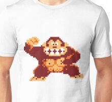 Donkey Kong Pixelated Unisex T-Shirt
