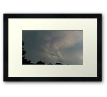 May 5 2012 Storm 108 Framed Print
