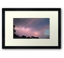 May 5 2012 Storm 114 Framed Print