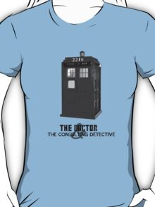 Wholock - The Doctor and the Consulting Detective T-Shirt