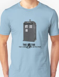 Wholock - The Doctor and the Consulting Detective Unisex T-Shirt