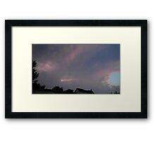 May 5 2012 Storm 119 Framed Print