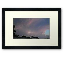 May 5 2012 Storm 121 Framed Print