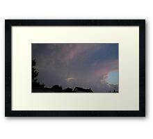 May 5 2012 Storm 122 Framed Print