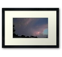 May 5 2012 Storm 126 Framed Print