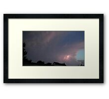 May 5 2012 Storm 127 Framed Print