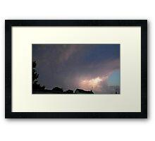 May 5 2012 Storm 128 Framed Print