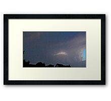 May 5 2012 Storm 133 Framed Print
