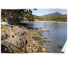 Beautiful Tasmania - Adventure Bay southern end Poster