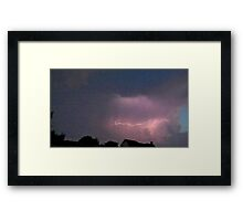 May 5 2012 Storm 138 Framed Print
