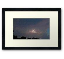 May 5 2012 Storm 145 Framed Print