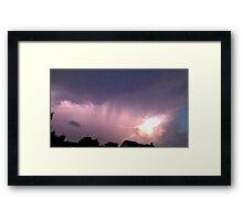 May 5 2012 Storm 148 Framed Print