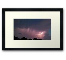 May 5 2012 Storm 150 Framed Print