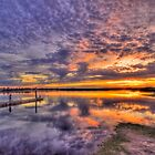 Barwon Heads Sunset HDR 2 by Danielle  Miner
