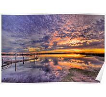 Barwon Heads Sunset HDR 2 Poster