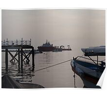 Bali Morning By Ocean Poster