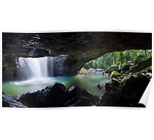 The Natural Bridge, Springbrook National Park, Queensland Poster