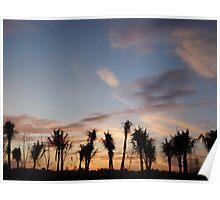 Bali Morning Sky Poster