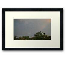 May 5 2012 Storm 195 Framed Print