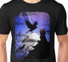 Raven's Haunted Castle Unisex T-Shirt