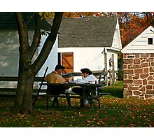 Lost In Thought, Dey Mansion, Wayne NJ Photographic Print