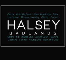 HALSEY- Badlands by flowersxcandice