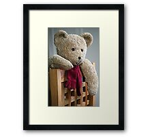 Just popped up to say 'Hi!' Framed Print
