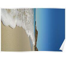 Beach Tides Perth Poster